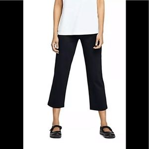 Gap Black Cropped Yoga Pants